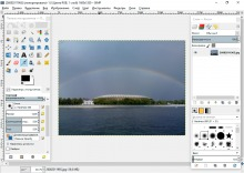 GIMP главное окно