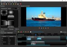 OpenShot Video Editor переходы