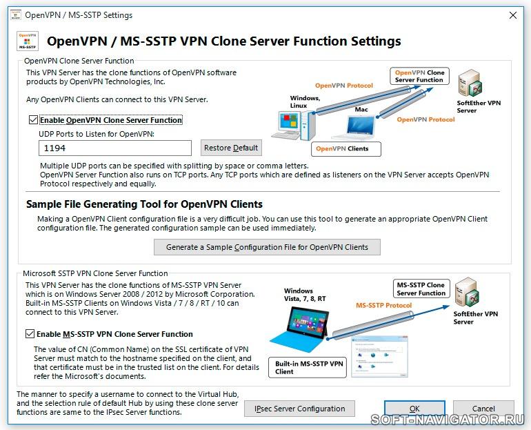 How to setup a vpn on windows server 2008